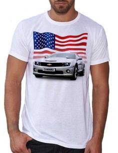 T-shirt homme avec une Camaro