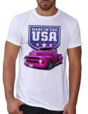 T-shirt homme avec une Ford customisée