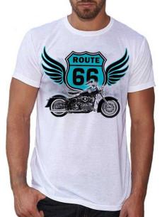 T-shirt H.D Route 66