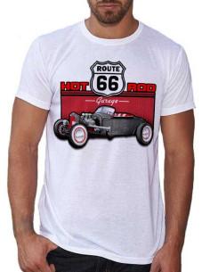 T-shirt homme avec une voiture customisée