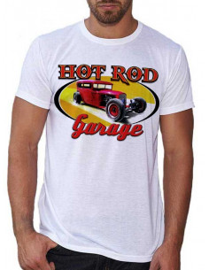 T-shirt homme motif Hot Rod