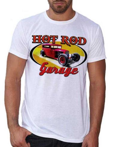 T-shirt homme motif Hot Rod