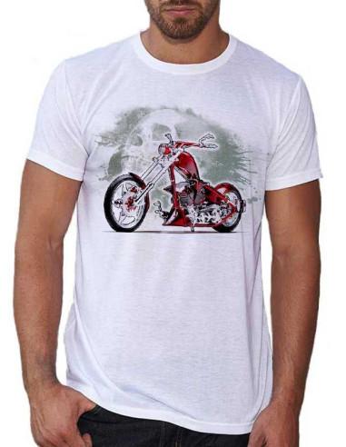 T-shirt moto customisée