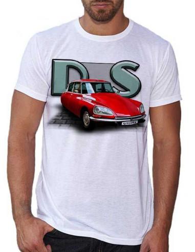 T-shirt blanc - homme - D.S Rouge