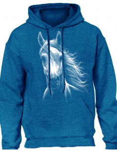 Sweat-shirt  blue anthracite