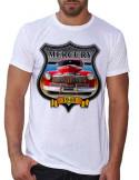 T-shirt blanc -Homme- Mercury