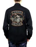 Dos de la chemise - Moto