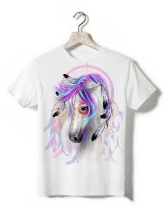 T-shirt enfant - Cheval indien