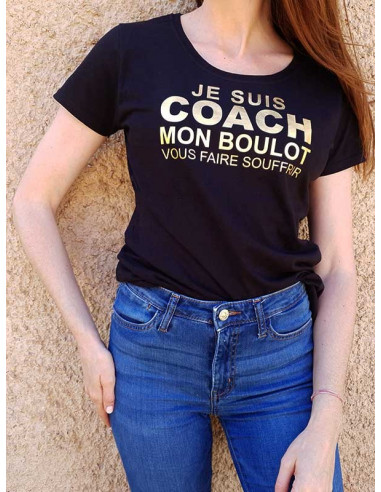 T-shirt avec marquage - Je suis Coach
