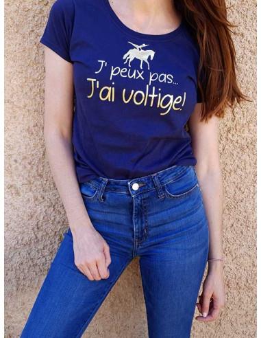 T-shirt - J'peux pas - J'ai voltige