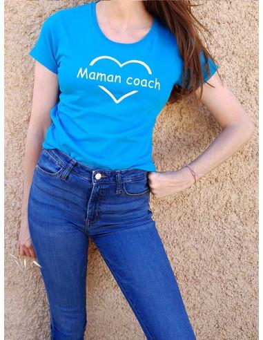 T-shirt - Maman coach !