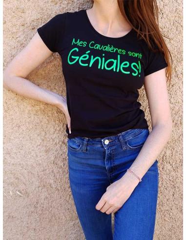 T-shirt - Mes cavalière sont géniales !