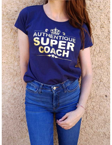 T-shirt - Authentique super coach
