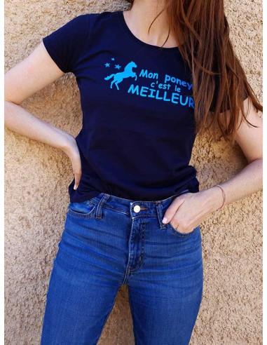 T-shirt - Mon poney c'est le meilleur !