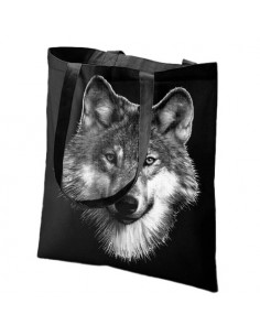Sac shopping - Loup