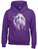 Sweat-shirt violet