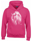Sweat-shirt fushia