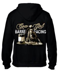 Sweat-shirt capuche avec zip - Femme - Barrel Racing
