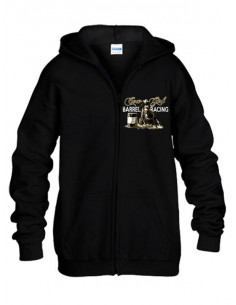 Sweat-shirt avec zip - Femme - Barrel Racing