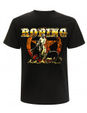 T-shirt noir manches courtes - Homme- Roping
