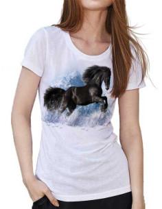 T-shirt - Femme - Frison dans la neige