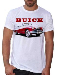 T-shirt avec une voiture Buick rouge